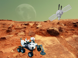 Eplore Planetary exploration with LEGO