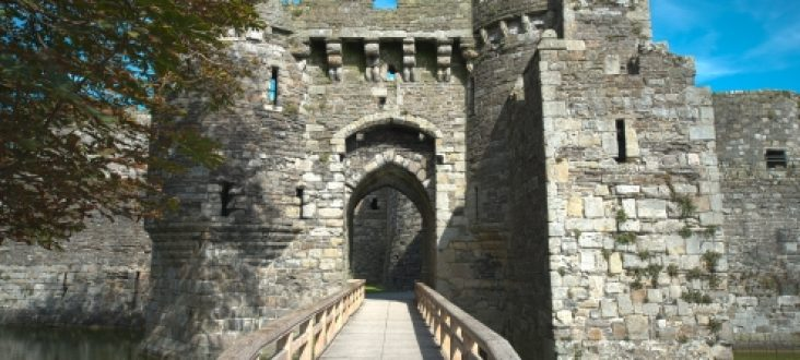 Beaumaris Castle Entrance