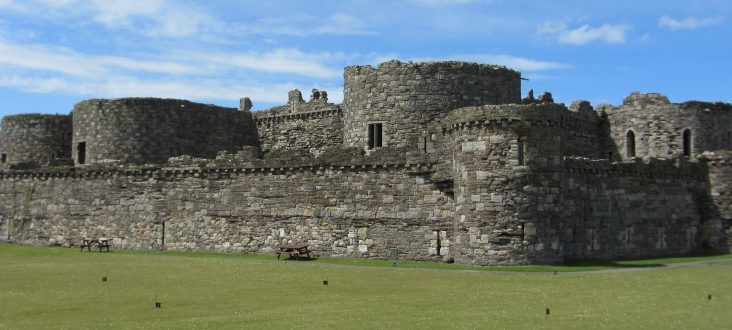 Beaumaris Castle Outside