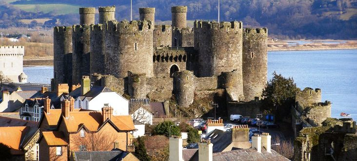 Conwy Castle Town